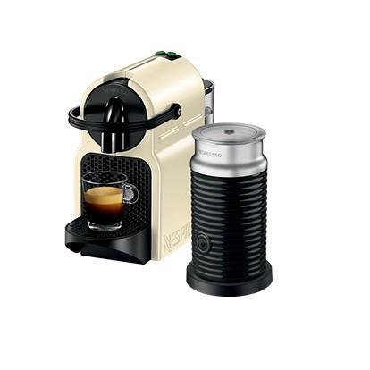Nespresso Inissia & Aeroccino3 DeLonghi Vanilla Cream