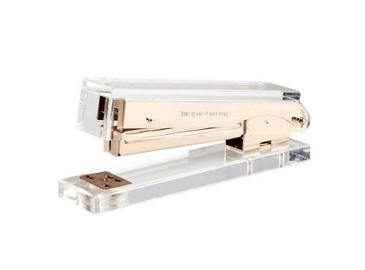 Kate Spade New York Gold Acrylic Stapler