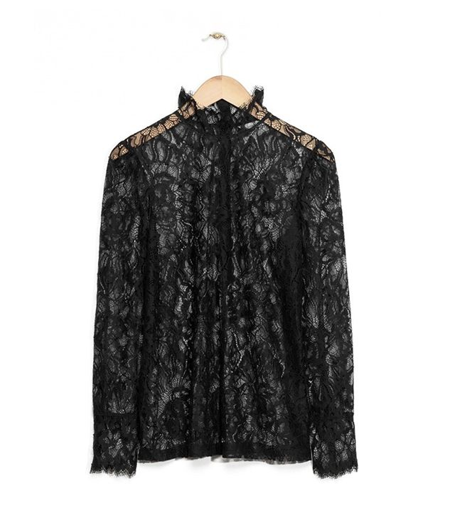 & Other Stories Lace Blouse