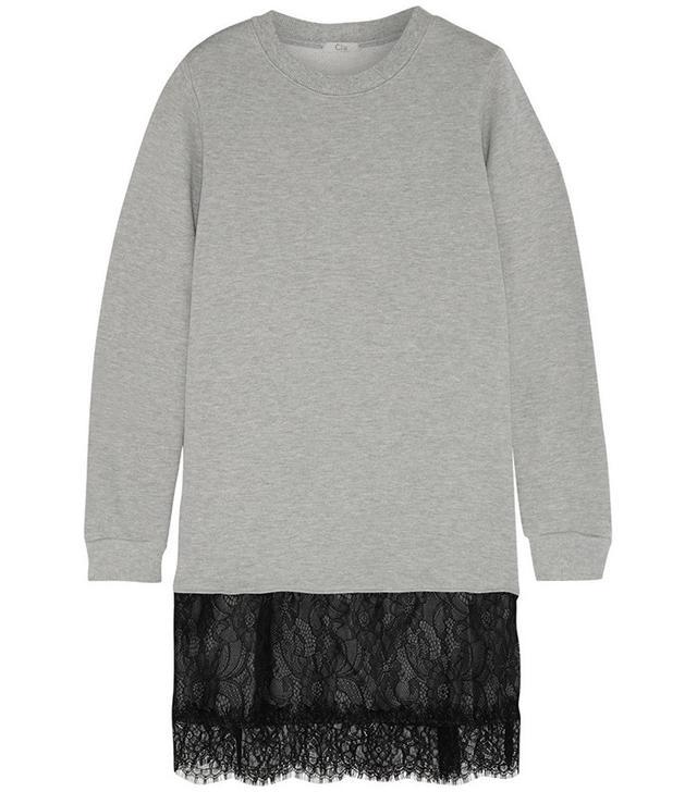 CLU Jersey Lace Dress