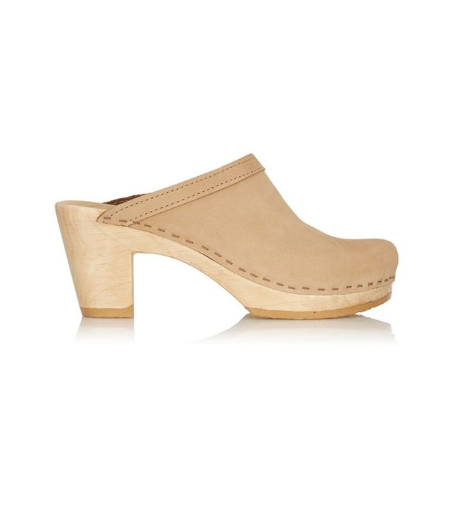 No.6 Store Leather Clogs
