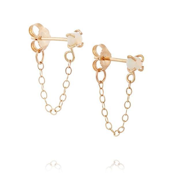 Melissa Joy Manning 14-karat Opal Earrings