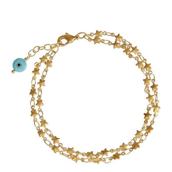 IAM by Ileana Makri Star Gold-Plated Bracelet