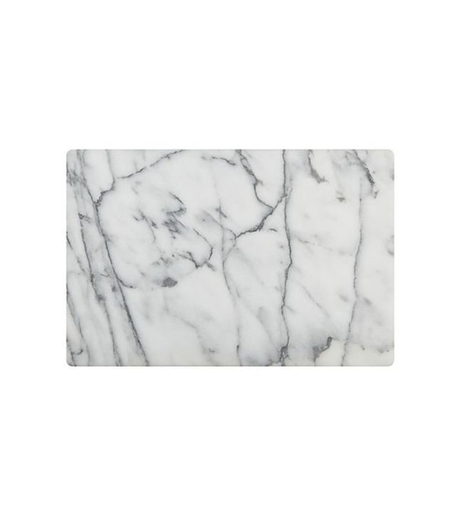 Crate and Barrel French Kitchen Marble Pastry Slab