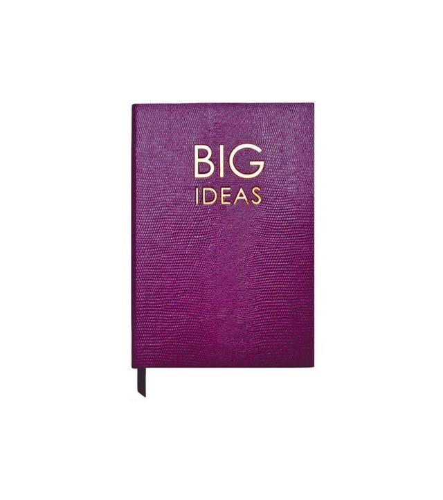 """Sloane Stationary """"Big Ideas"""" Journal, Mauve"""