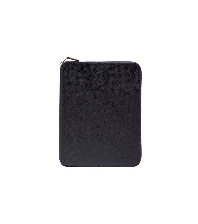Smythson Panama A5 Zipped Folder