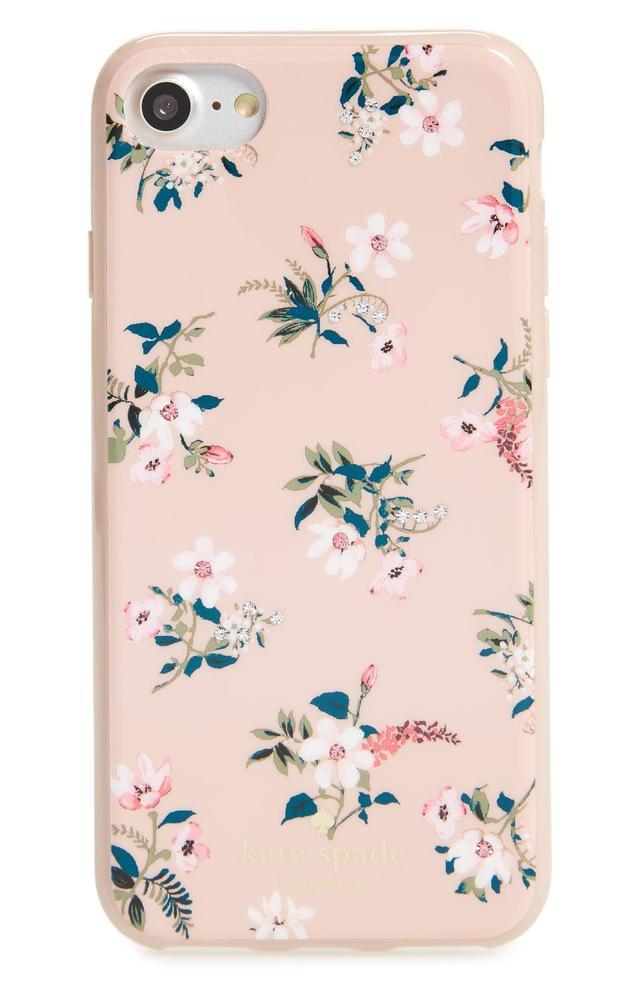 Kate Spade New York Jeweled Flora Iphone 7/8 & 7/8 Plus Case -