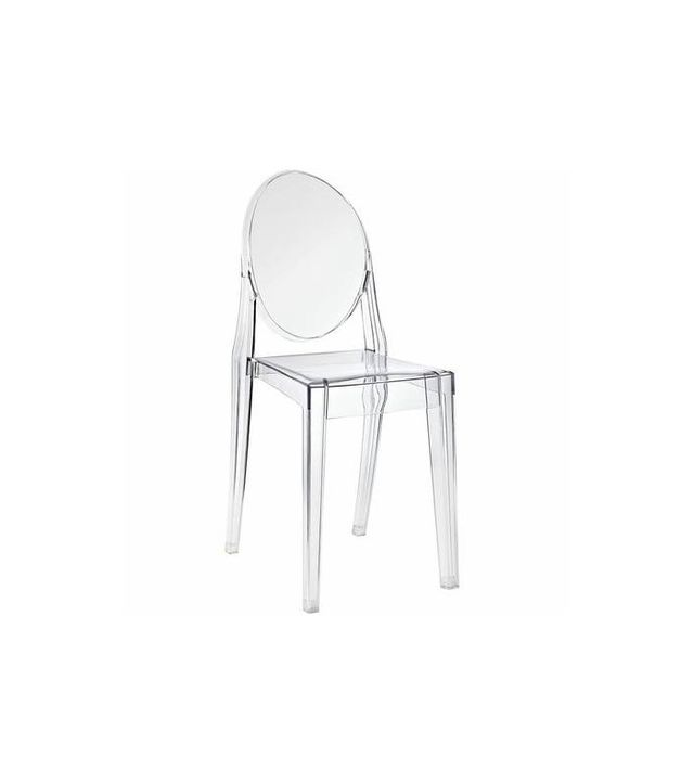 Philippe Starcke Kartell Style Ghost Side Chair