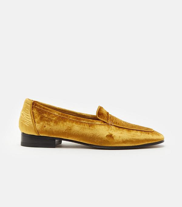 Adam Loafer Antique Gold Size: EU 38.5