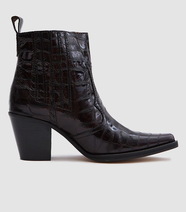 Callie Ankle Boots in Decadent Chocolate