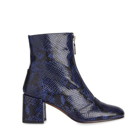 Rowan Snake Zip Front Boot