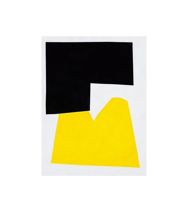 Michael Wall Yellow Two Painting
