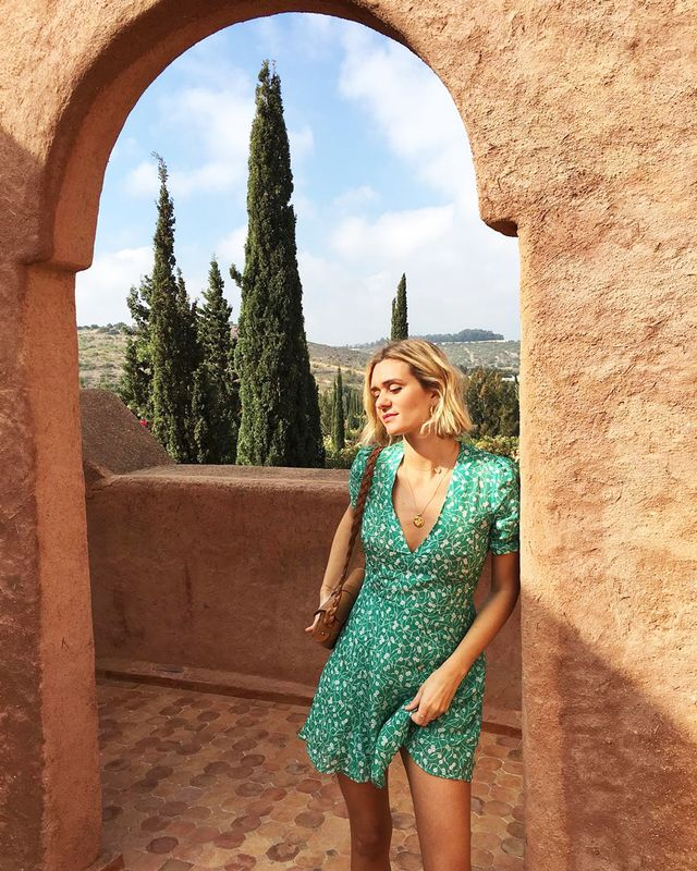 What looks amazing on you: Fit-and-flare dresses. Why: They will show off how little you are on top and are roomier from the waist down for your curvier bottom half.