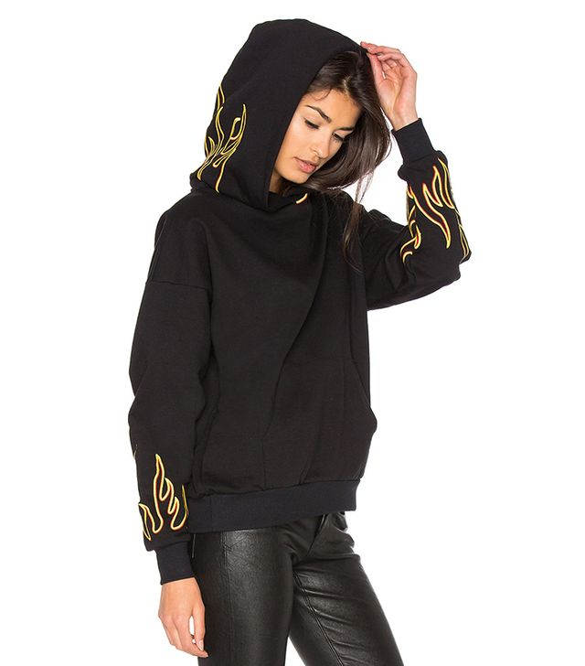 Hoodie 114 in Black. - size XS (also in M,S)