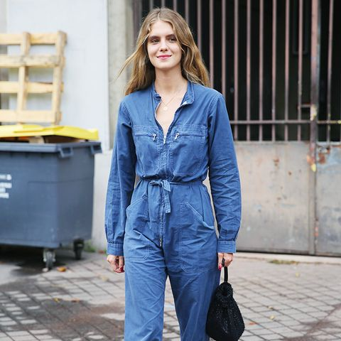 7 Casual-Cool Ways to Wear a Utility Jumpsuit