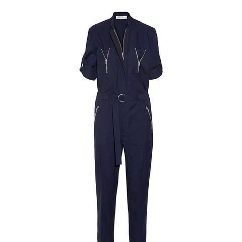 Wool-twill Jumpsuit