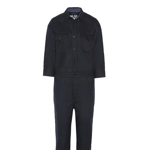 Wool-Blend Jumpsuit