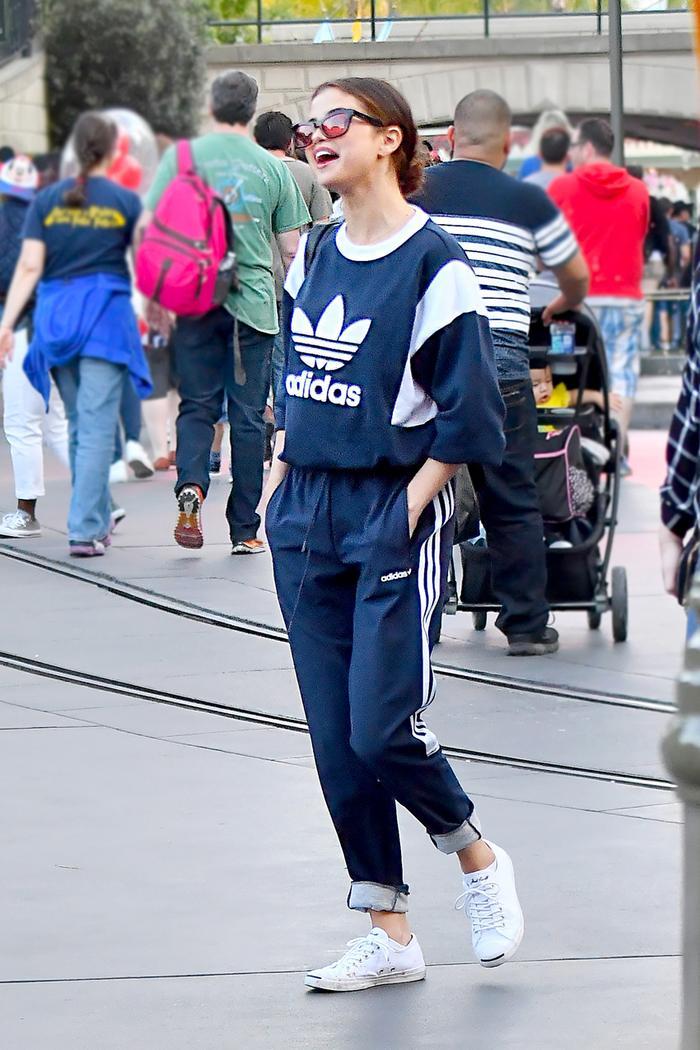 Selena Gomez at Disneyland