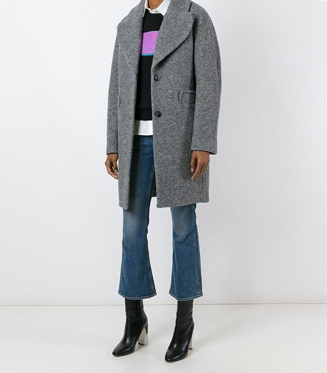 Carven Two-Button Coat