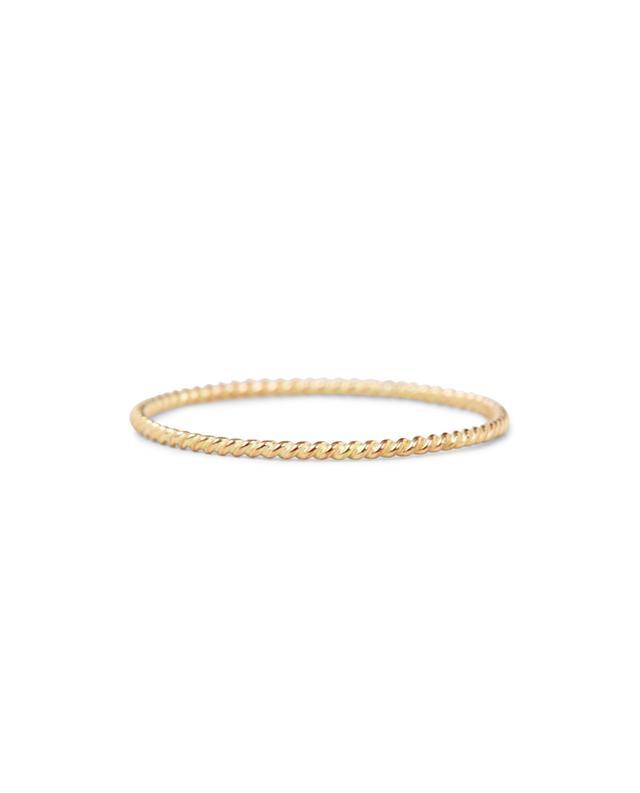 Twisted 14-karat Gold Ring