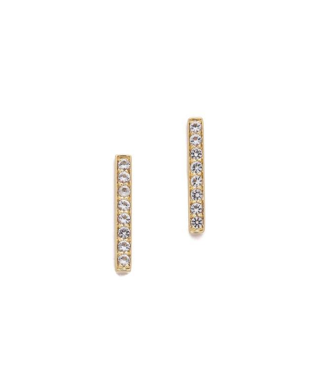 Braque Bar Stud Earrings