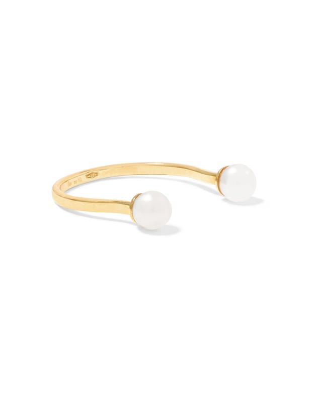 9-karat Gold Pearl Ring
