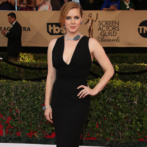 Amy Adams Wearing Black