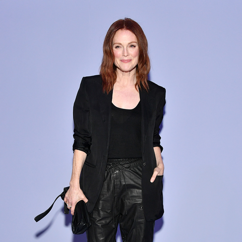 Julianne Moore Wearing Black