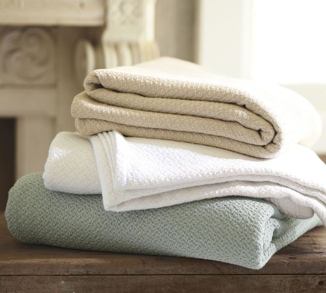 Pottery Barn Organic Essential Blanket