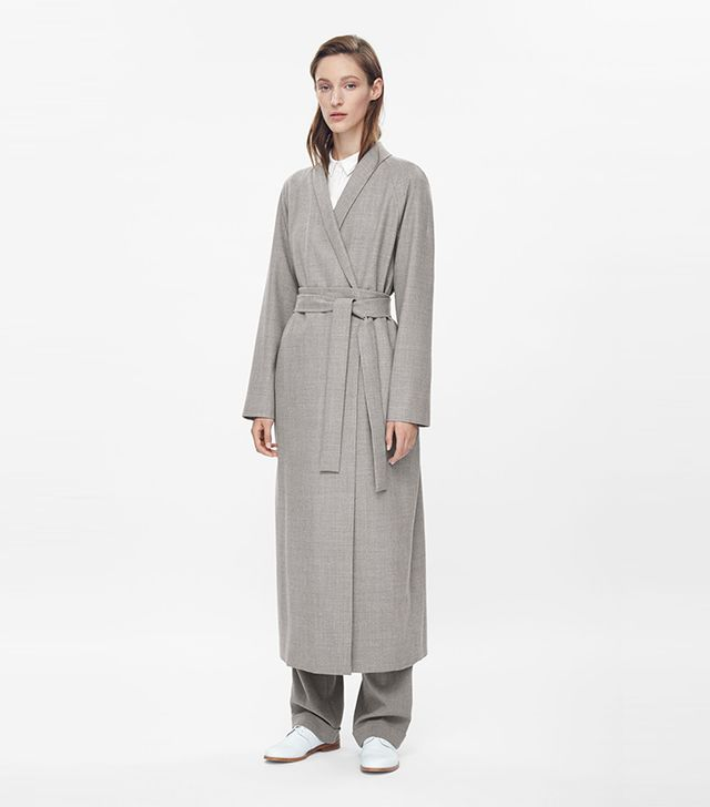Cos Full-Length Wool Coat
