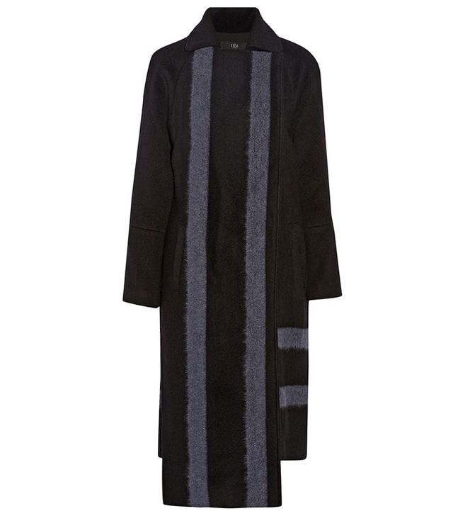 Tibi Asymmetric Wool-Blend Coat