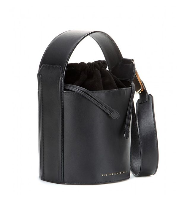 Victoria Beckham Leather Bucket Bag