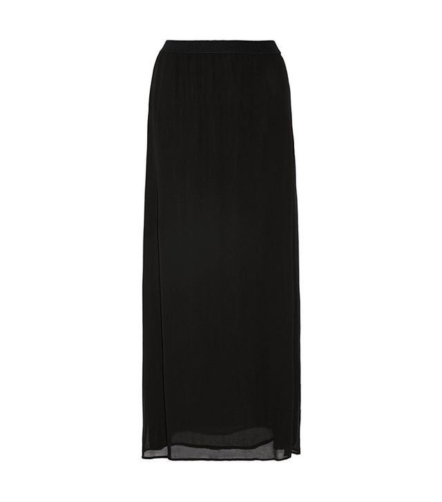 Enza Costa Black Maxi Skirt
