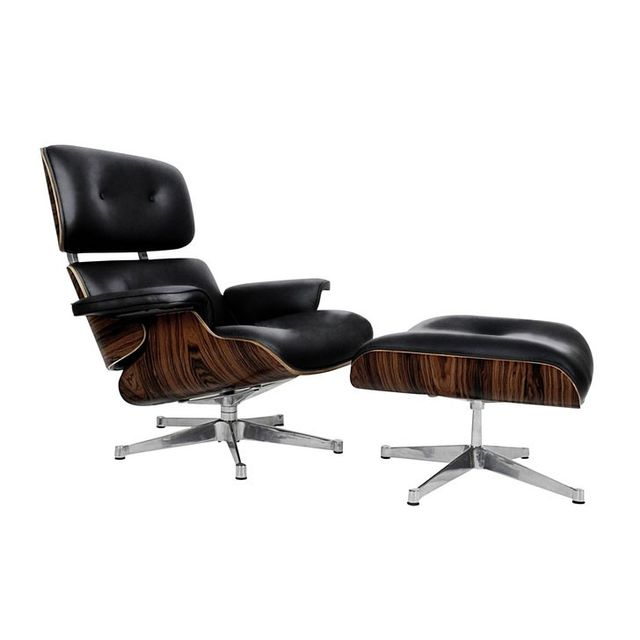 Replica Eames Replica Eames Leather Lounge Chair