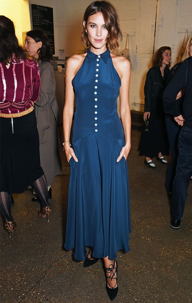 WHAT: 19 September 2015 at the MatchesFashion.com Dinner