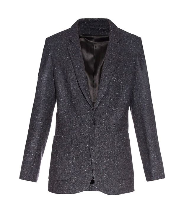 Rael Longline Donegal-Tweed Blazer