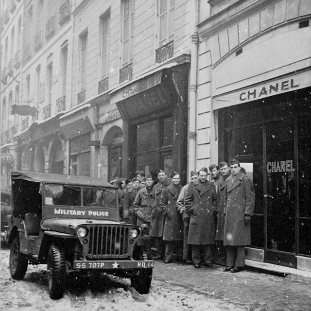 7. Four of Chanel's five boutiques closed in 1945 because of World War II.