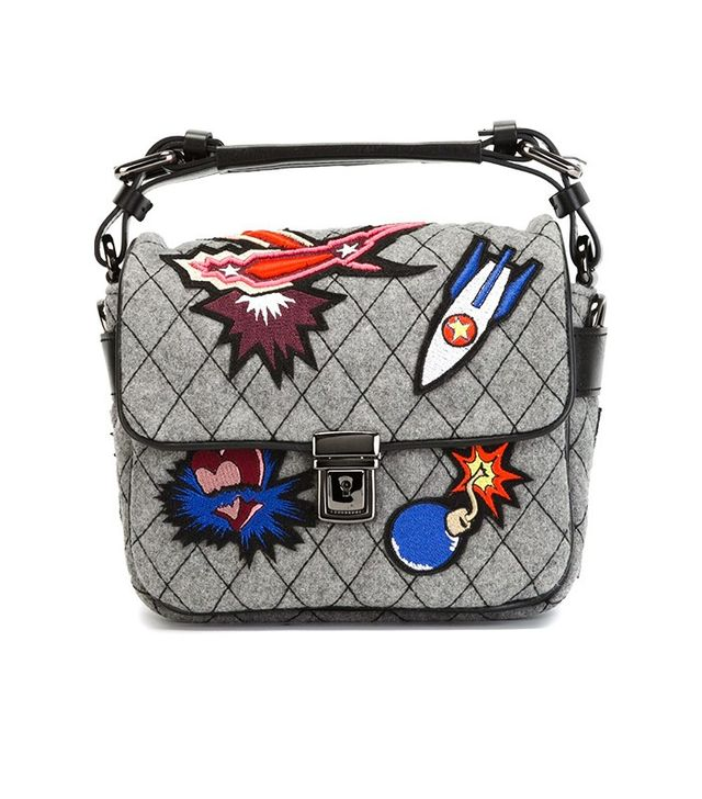 MSGM Small Patch Tote