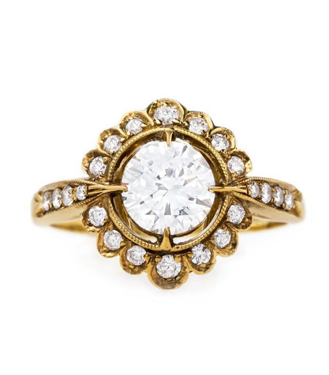 best unique engagement ring