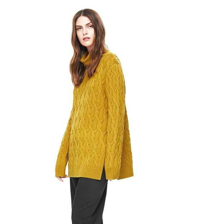 COS Oversized Cable-Knit Jumper