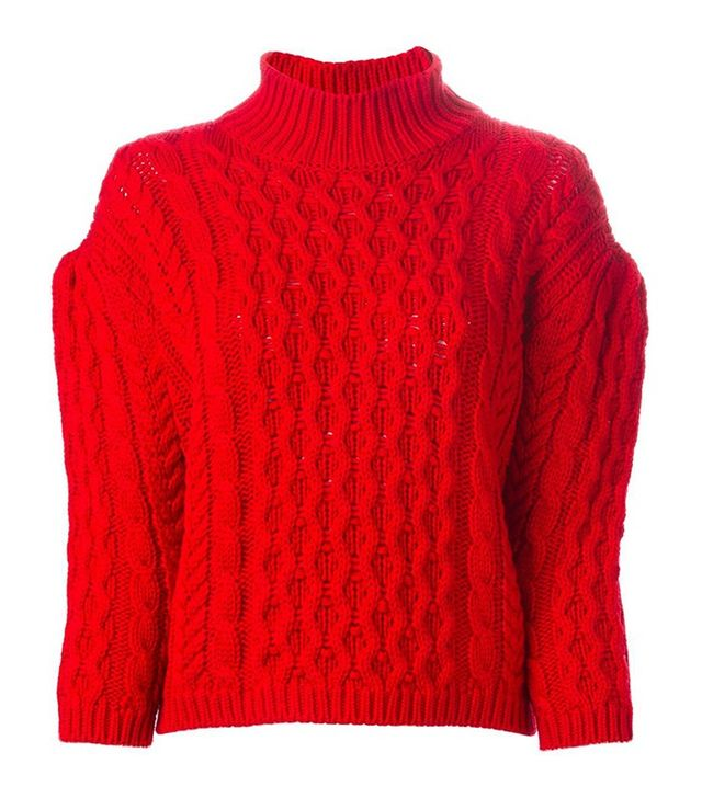 Simone Rocha Chunky Cable-Knit Jumper