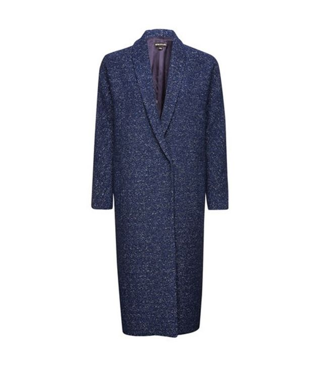 "Whistles Tunilla Textured Overcoat <font color=""black""><strike>£375</strike></font>"