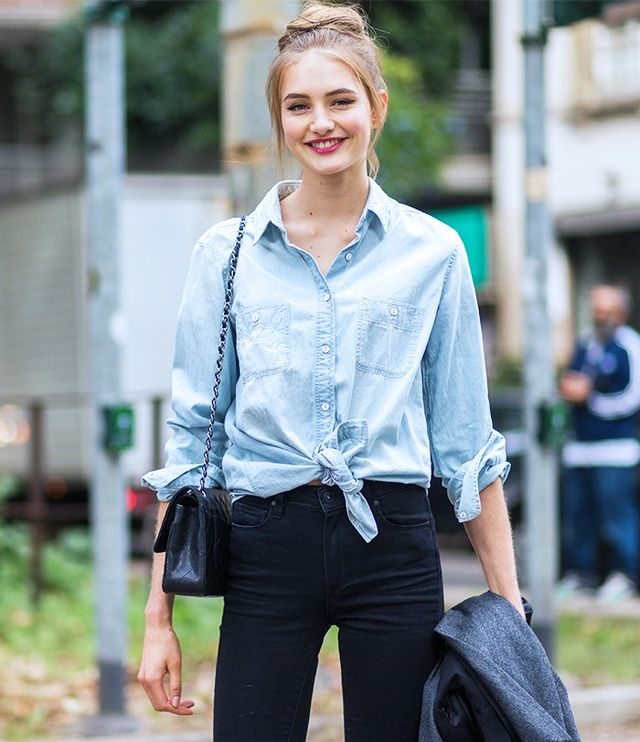 9 Fashion Week-Approved Ways to Style Your Shirt