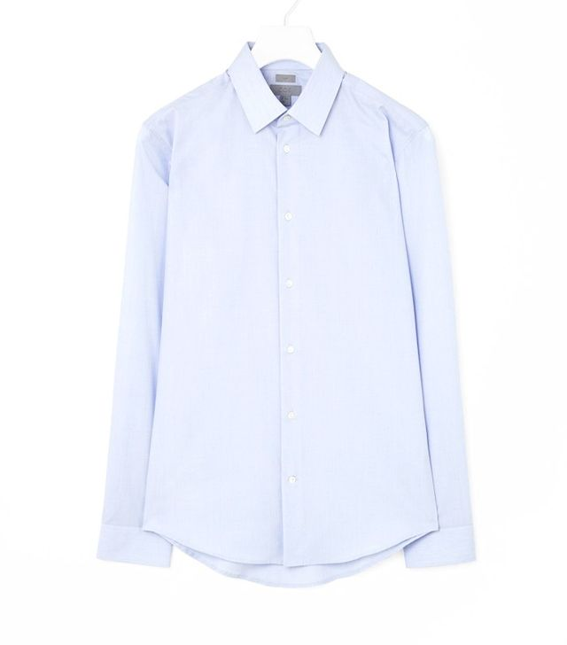 COS Men's Cotton Poplin Shirt