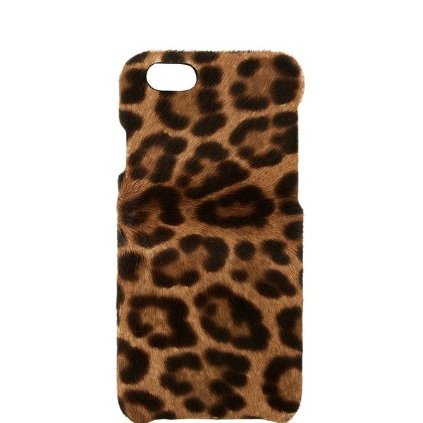 The Case Factory Leopard Print Calf-Hair iPhone 6 Cover