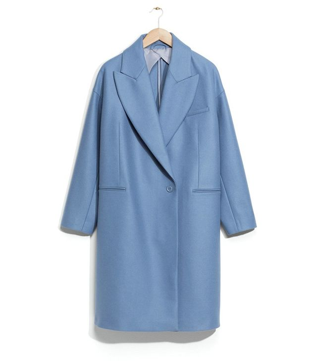 & Other Stories Oversized Wool-Blend Coat