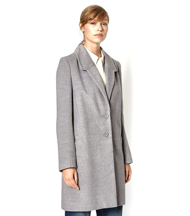 French Connection Atomic Collared Coat