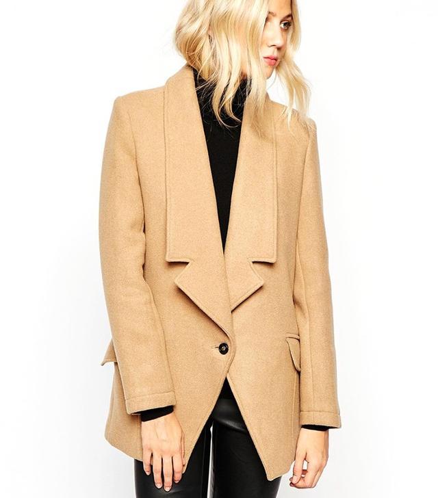 Parka London Alana Tuxedo Coat