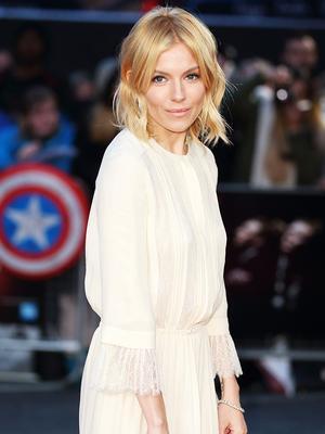 Sienna Miller Just Wore the Dreamiest White Dress