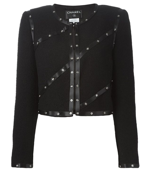 Chanel Snap Button Jacket